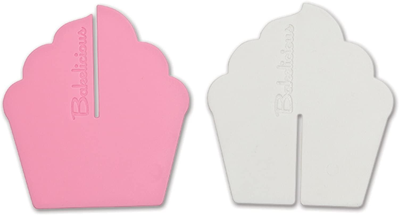 Bakelicious Reusable Cupcake Dividers, Set of 12 Pairs
