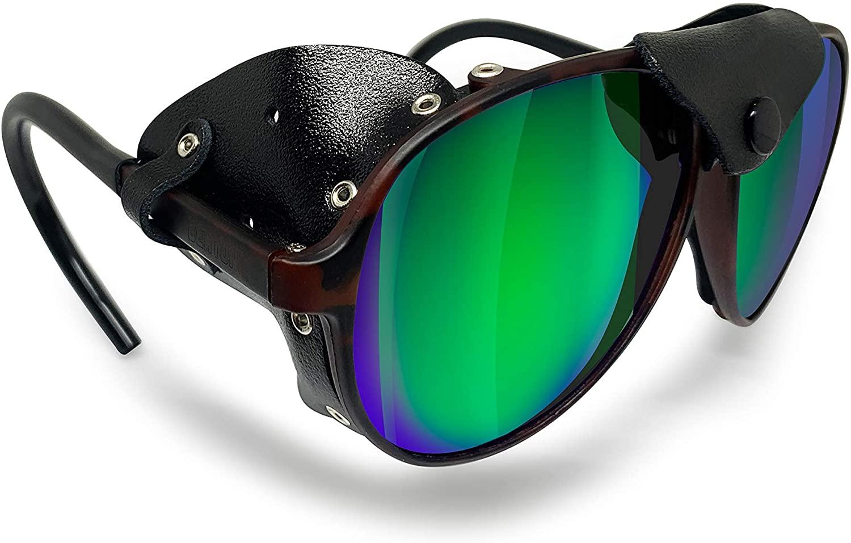 Bertoni Glacier Polarized Sunglasses for Mountain Hiking Trekking Ski mod ALPS Italy