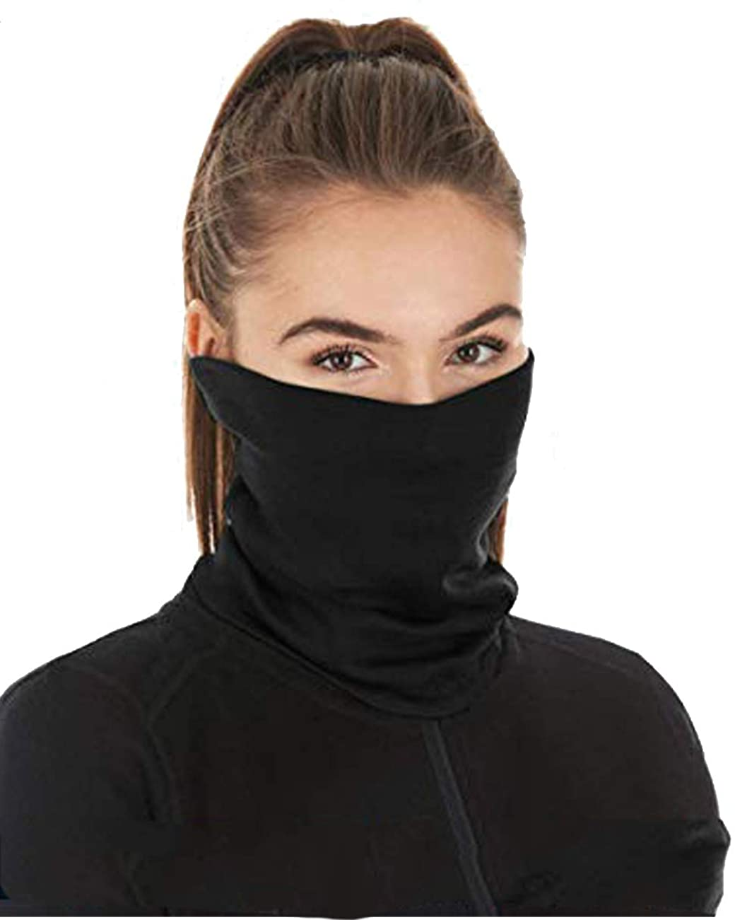 Scarf Bandanas Neck Gaiter with Safety Filters Face Cover Balaclava Scarves