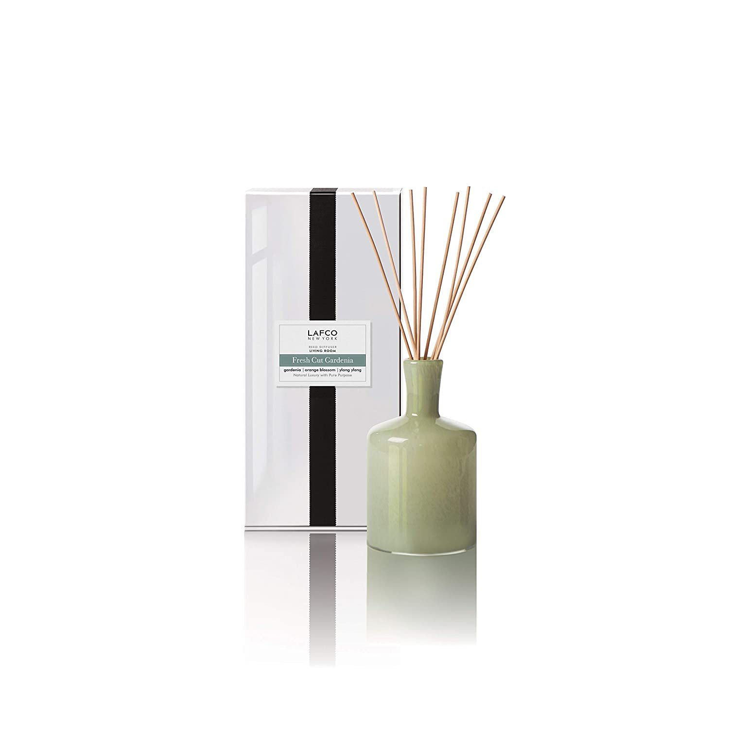 LAFCO Reed Diffuser, Fresh Cut Gardenia, Living Room