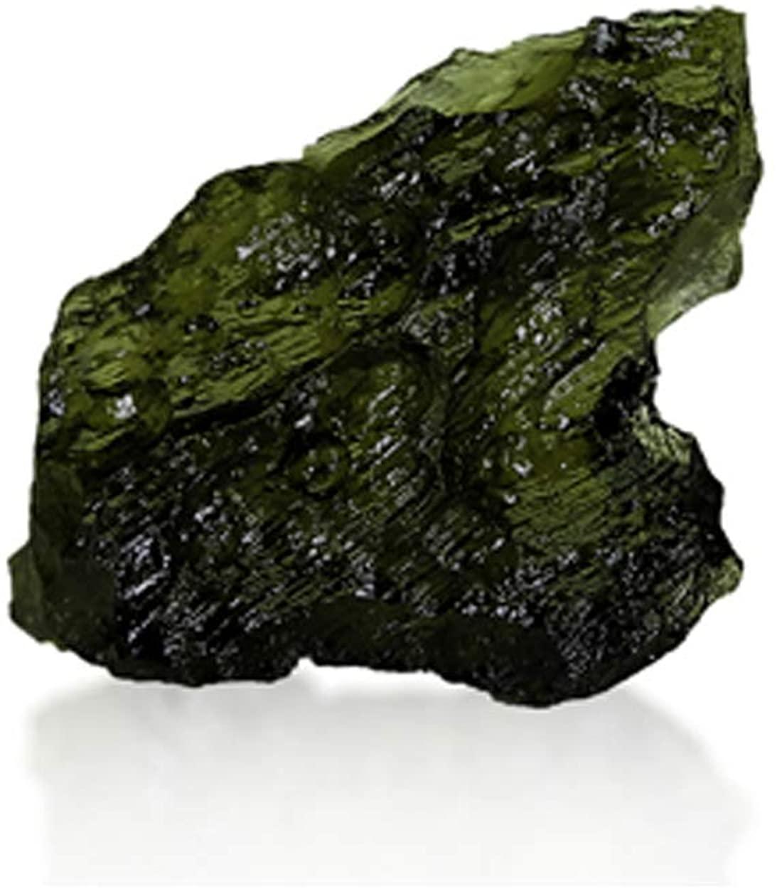 GemPundit Moldavite 1.29 Grams AGR Certified from Czech Republic Natural Original AAA++ Gemstone