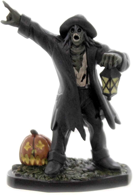 Department 56 Snow Village Halloween Haunted Watchman Figurine, 3.47 in H