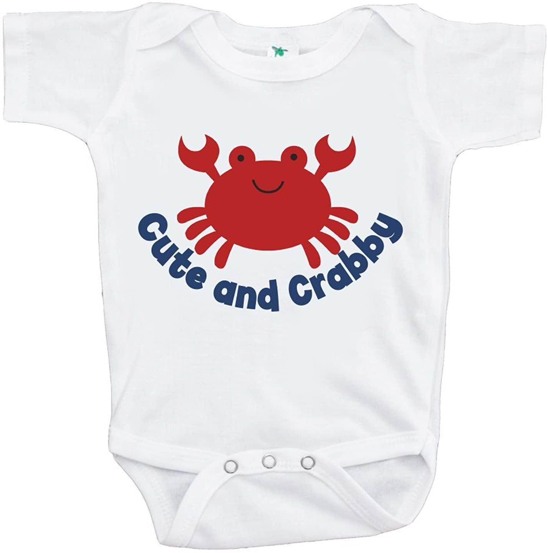 Custom Party Shop Baby Boy's Crabby Summer Onepiece