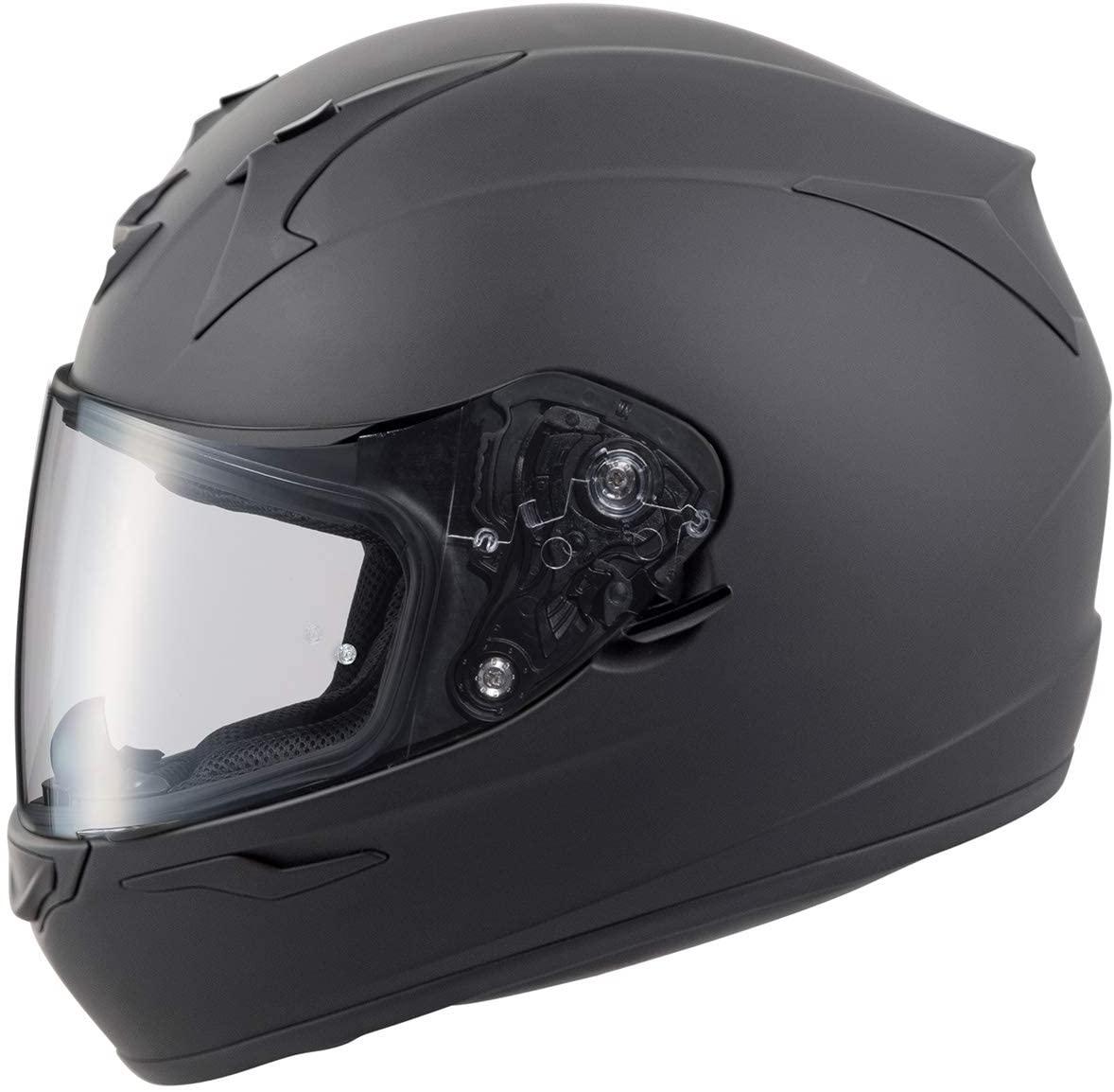 Scorpion EXO-R320 Solid Street Motorcycle Helmet - Matte Black/X-Large