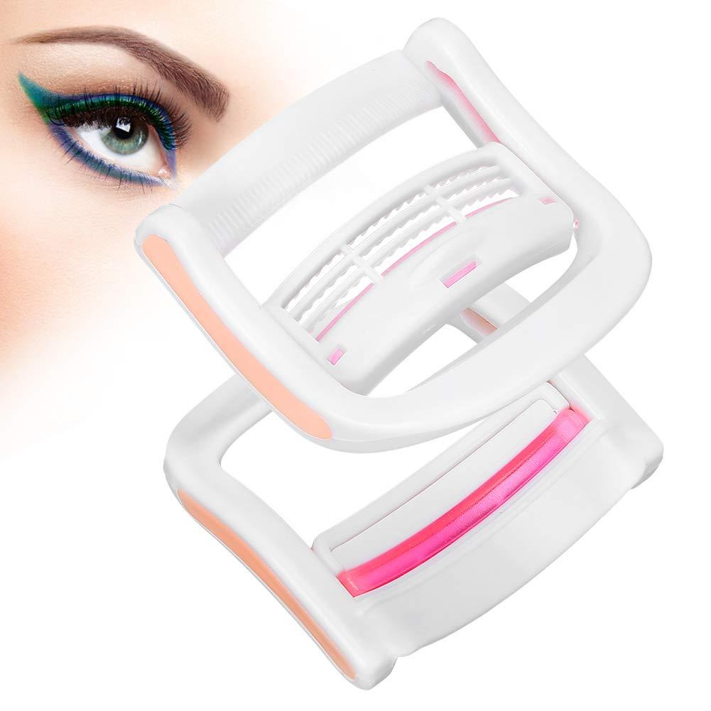 Portable Eyelash Perming Clip for Women, Mini Plastic Reusable Eyelash Curler, Eyelash Styling Perming Makeup Tools(L)