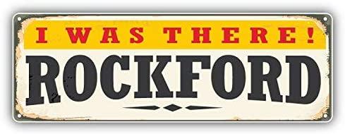 KW Vinyl Magnet Rockford Retro Travel Tin Sign Truck Car Magnet Bumper Sticker Magnetic 5