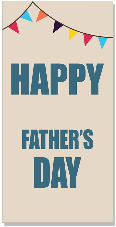 Happy Father's Day Decal Sticker Retail Store Sign 8