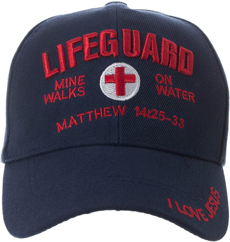 Matthew 14:25-33 Mine Walk on Water Hat - Religious Christian Gift