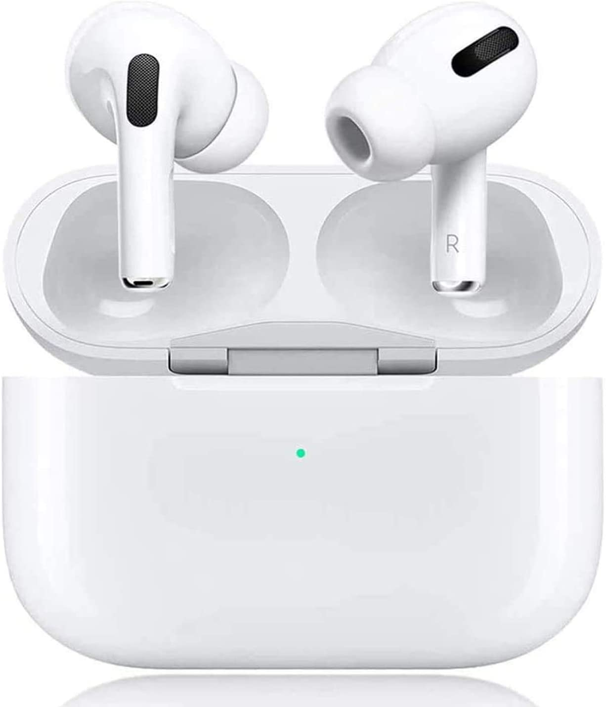 Wireless Earbuds Bluetooth 5.0 Headphones with 24H Charging Case, 3D Stereo IPX5 Waterproof Sports Earphones in-Ear Headphones with Built-in Mic,for iPhone/Apple Airpods Pro/Android/Samsung