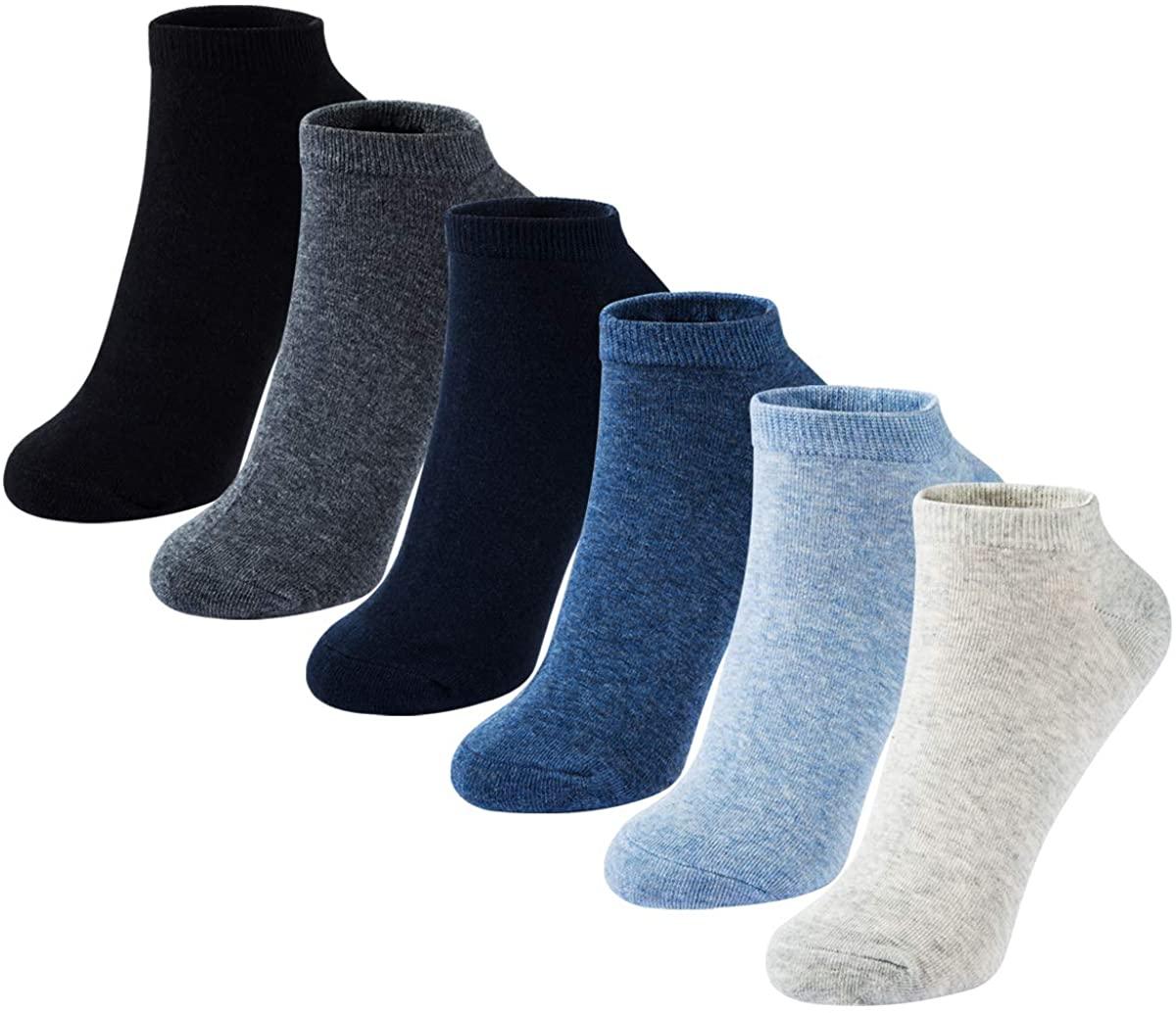 Socks Women Crew Casual Socks Low Cut Ladies Cotton Comfort Athletic Socks by MAGIARTE