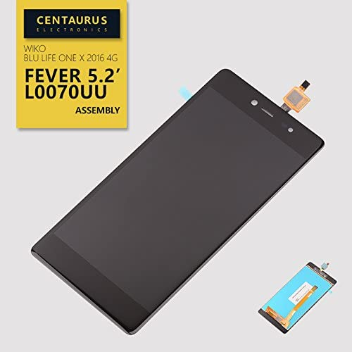Replacement for Blu Life One X 2016 4G L0070UU Touch Screen Digitizer LCD Display Assembly
