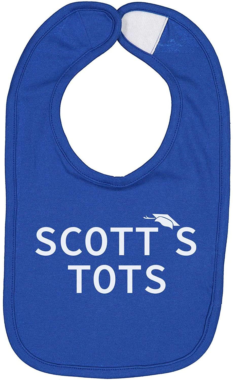 Scott's Tots The Office Unisex Baby Bib (Royal Blue)