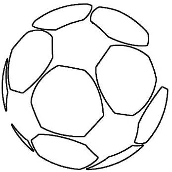 EW Designs Soccer Ball Sticker Die Cut Decal European Football Bumper Sticker Vinyl Sticker Car Truck Decal 5