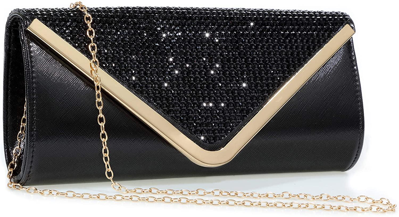 Evening Bag Sparkling Clutch Purses for Women,Mansherry Ladies Party Handbag rhinestones Wedding Bag Purse