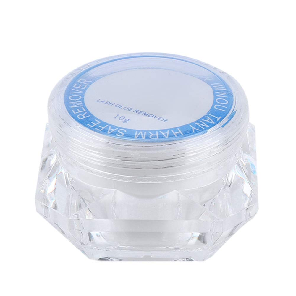 Eyelash Remover Cream, False Eyelash Removal Gel, Eyelash Remover Cream for Cleaning False Eyelashes, Eyelash Remover(5g)