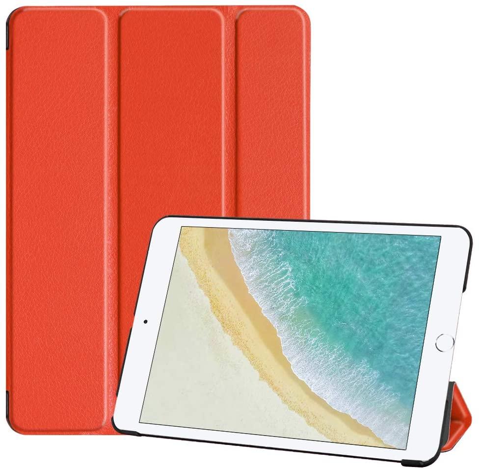 SanJune Slim Case for iPad Mini 3 2 1, Auto Wake/Sleep for Apple iPad Mini 3/ Mini 2/ Mini 7.9-inch Tablet, Orange
