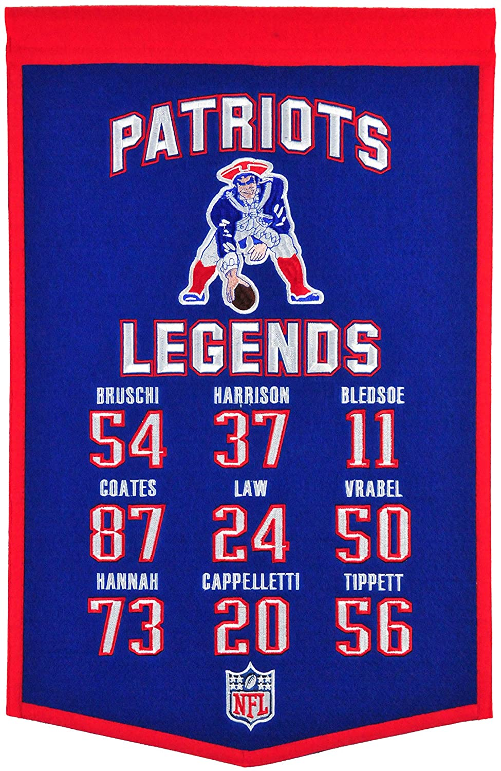 Winning Streak NFL Legends Banner