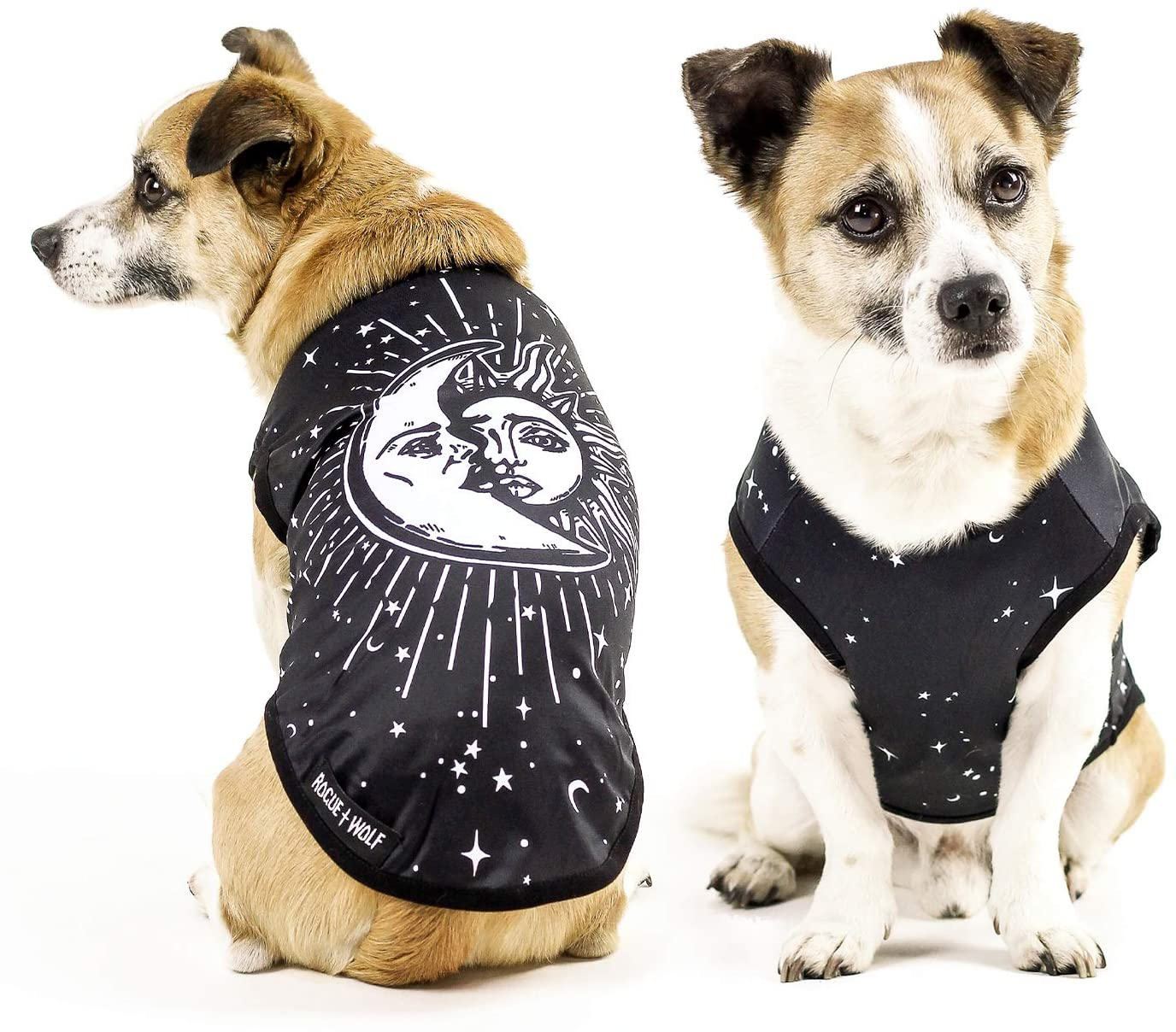 Rogue + Wolf Cute Dog & Cat Vest Clothes for Small Dogs & Large Girl & Boy Puppy Kitten Pets Accessories Pet Outfits Goth Gothic Witchy Gifts Costume Sizes XS - XXL