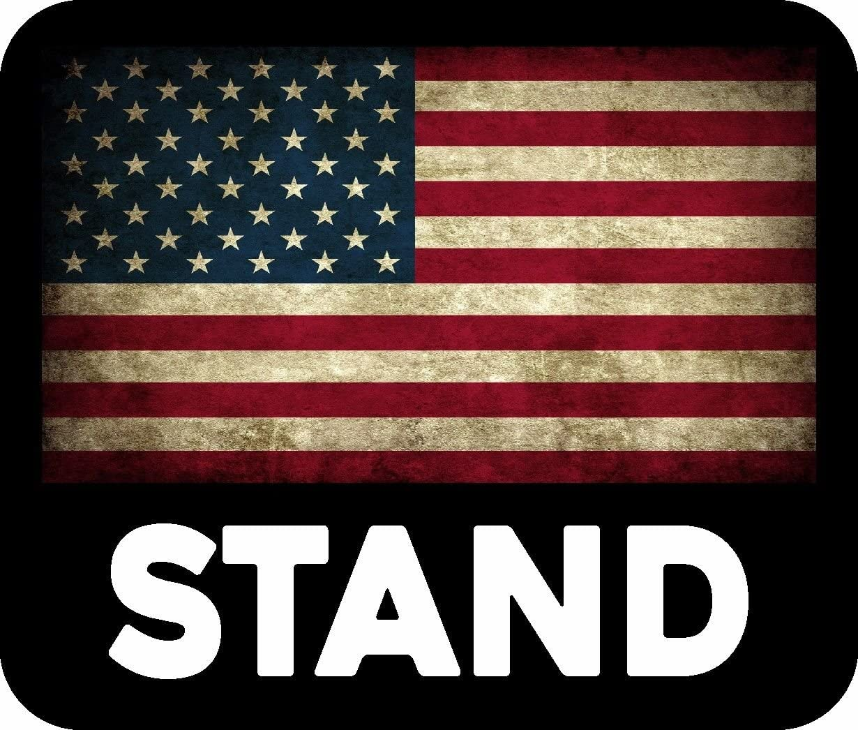ION Graphics Magnet Trump Support Stand American Flag USA MAGA Decal Political Magnets Police Decal Car Fridge Metal Reuseable
