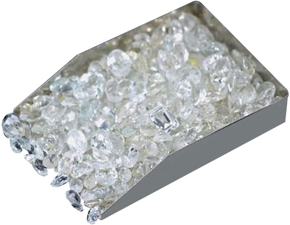 100+ Carats of Real Natural White Topaz Mix Gemstones Lot in Mixed Shapes and Sizes. Grade A+ Quality, Incredible Wholesale Price. Prepared Exclusively by GemMartUSA (WT-60001)