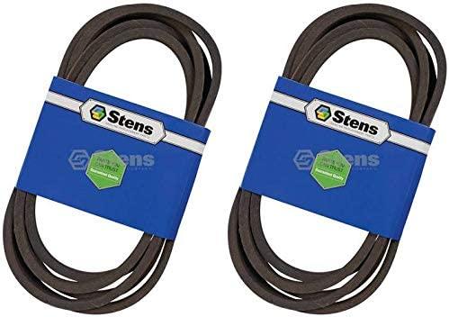 Stens 2 Pack 265-777 OEM Replacement Belt Fits John Deere TCU26297