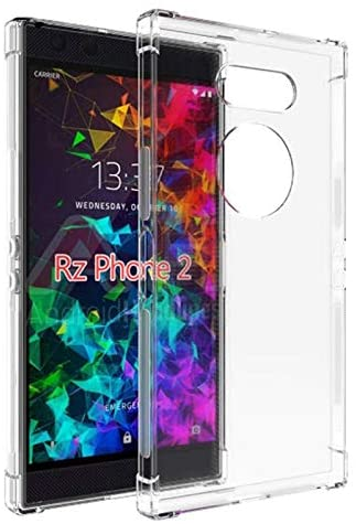 Ultra Thin Case Soft Silicone TPU Case for Razer Phone 2 - Back Cover Case Clear Crystal Full Protection TPU Transparent Phone Case for Razer Phone2