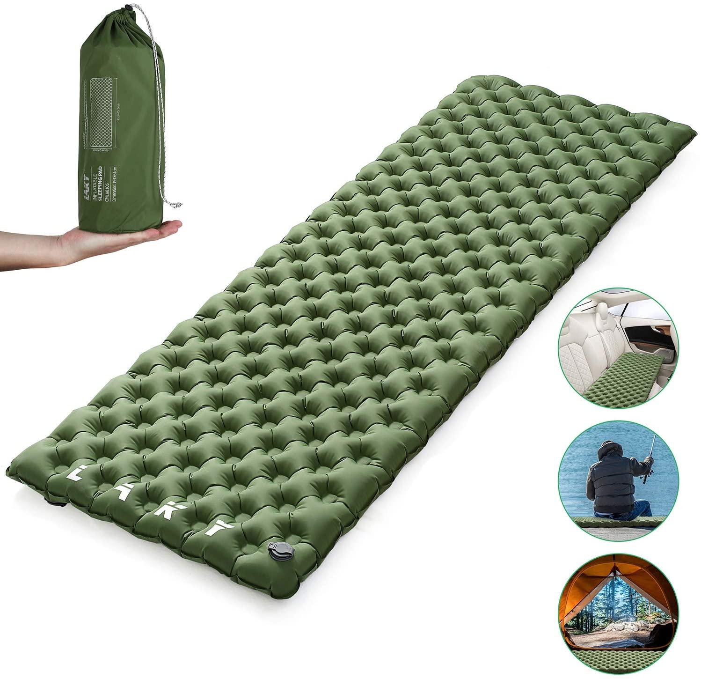 LAKY Camping Sleeping Pad - Inflatable Sleeping Mat