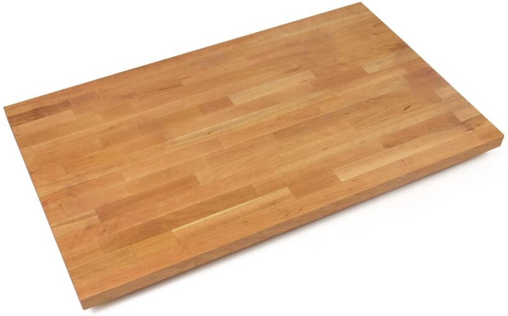 John Boos CHYKCT-BL3630-O Blended Cherry Counter Top with Oil Finish, 1.5 Thickness, 36 x 30
