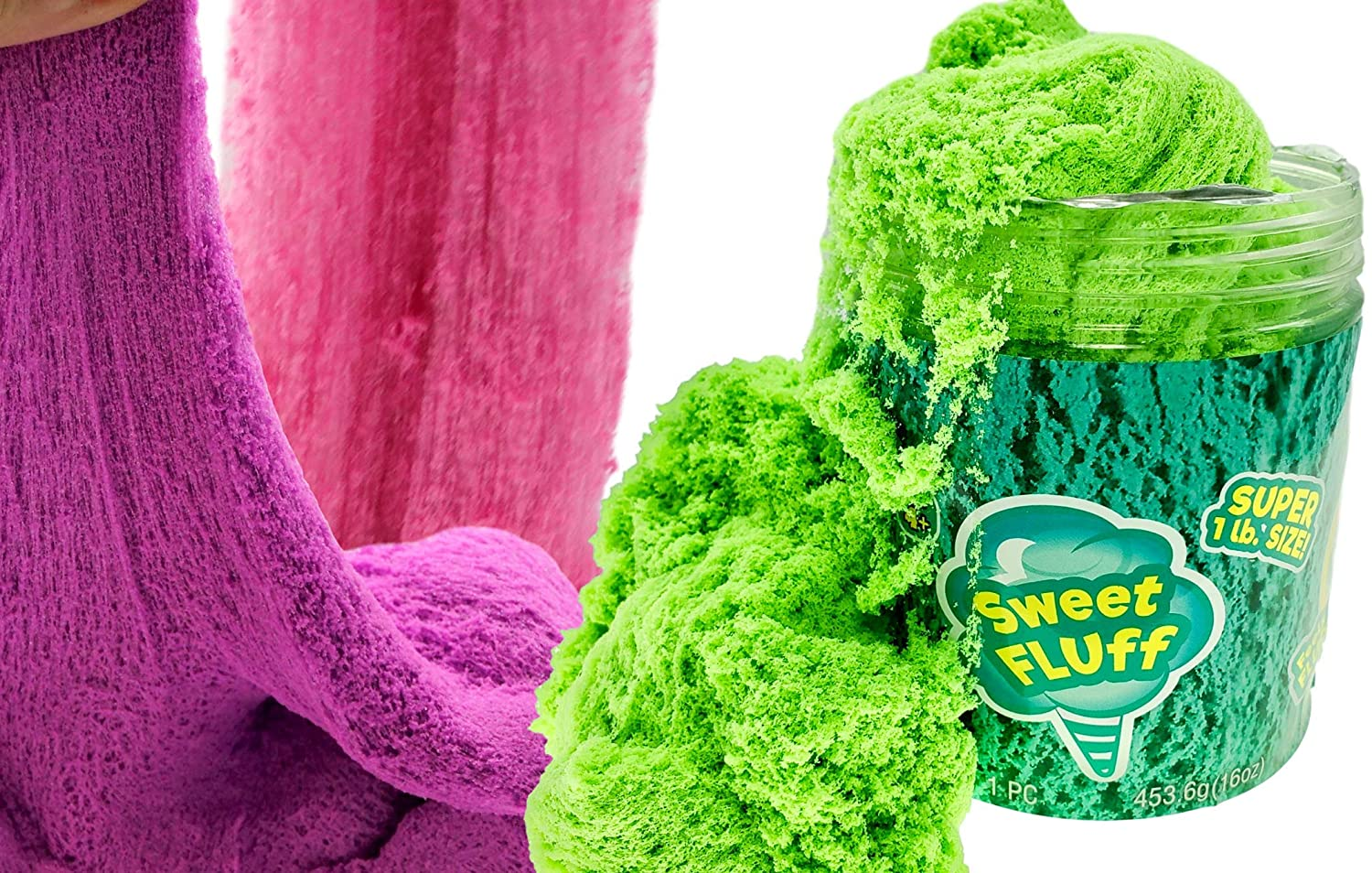 1 Pound Cotton Candy Putty Toys Sensory Sand Fluff Stuff Stress Relief Kids Toy (1 Unit) Cloud Slime & Kinetic Mad Play Therapy Putty Magic Mattr Clay Fidget Anxiety Relief Kids Party Favor. 6599-1A