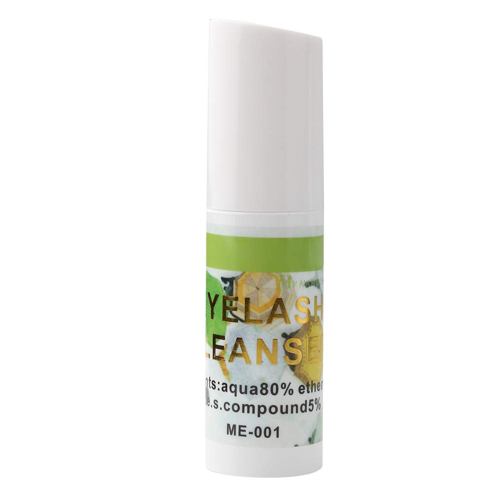 Eyelash Cleanser for Cleaning Removing Oil and Dust on Eyelashes, Professional Eyelash Extension Glue Removal Gel Cream Tool