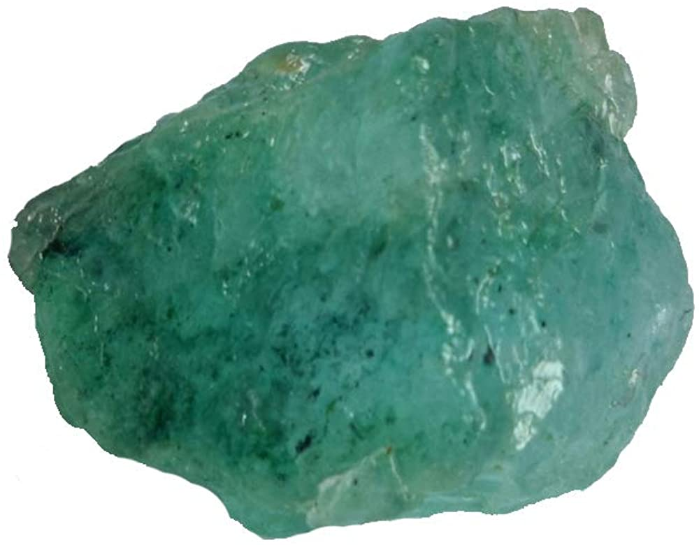 Gemhub Amazing AAA++ Quality Raw Green Emerald 11.00 Ct Rough Natural Emerald Healing Crystal Stone