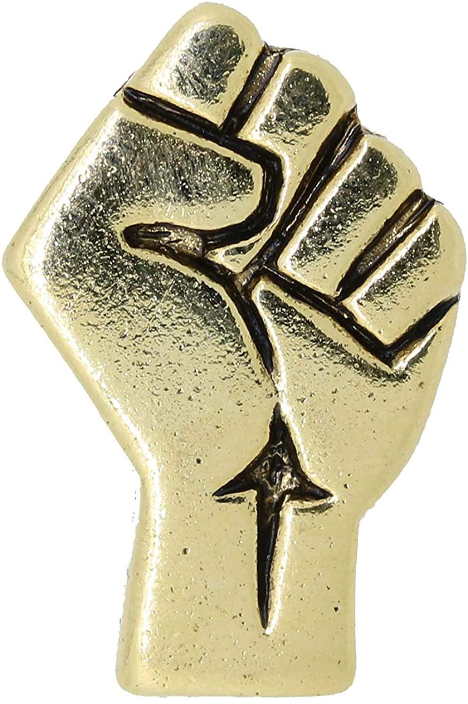 Jim Clift Design Civil Rights Gold Lapel Pin