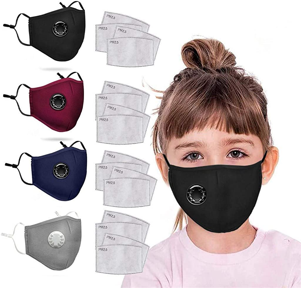 OMKODO Adult Outdoor Face Face Mack with Eyes Shield 6 Macks + 12 Filters