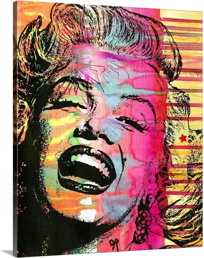 Marilyn Canvas Wall Art Print, 16x20x1.25