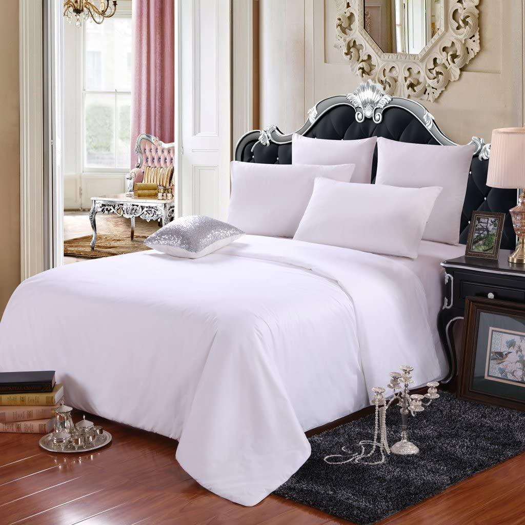 LEAFELL Silk Comforter Full Size Summer, 100% Pure Long Grade Mulberry Silk Duvet, Breathable Lightweight