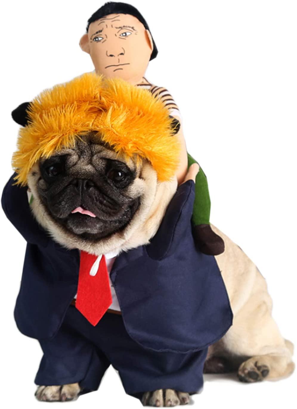 Alfie Pet - Dario Ride-On The President Pet Costume
