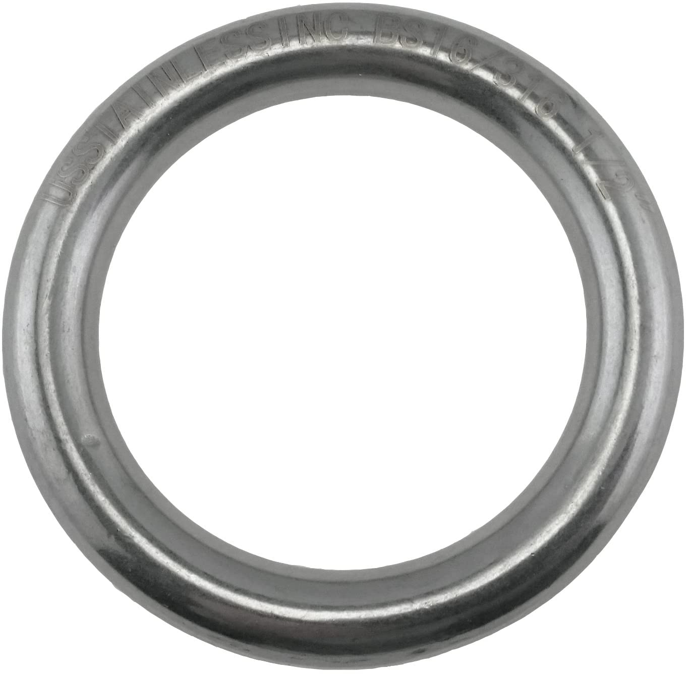 Stainless Steel 316 Round Ring Welded 1/2