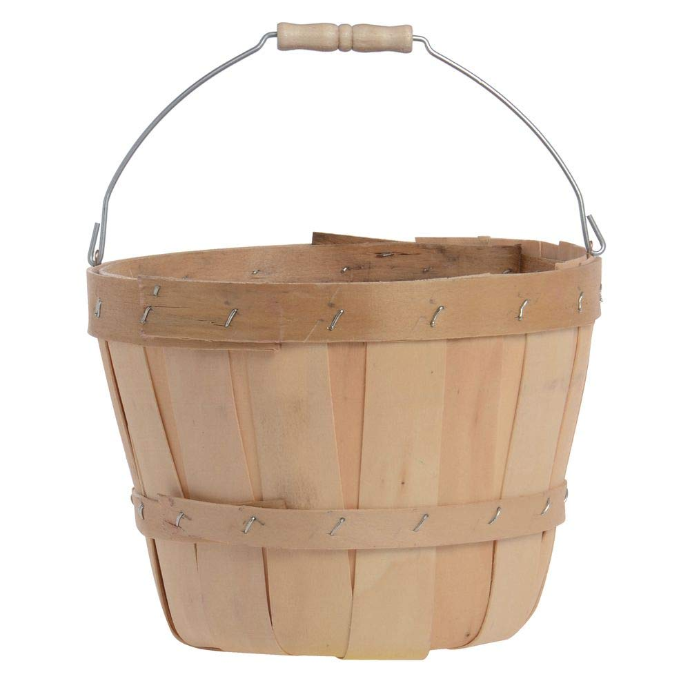 1/4 Peck Basket with Bail Handle
