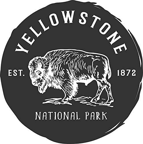 MR3Graphics Magnet Yellowstone National Park Magnetic Car Sticker Decal Bumper Magnet Vinyl 5
