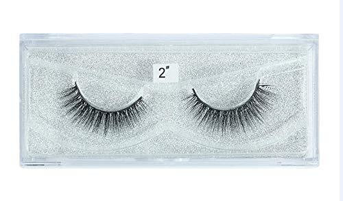 10 Pairs/Lot 3D Faux Mink Soft Lashes Full Strip Eyelash Natural Charming Volume Cilia Extension False Eyelashes