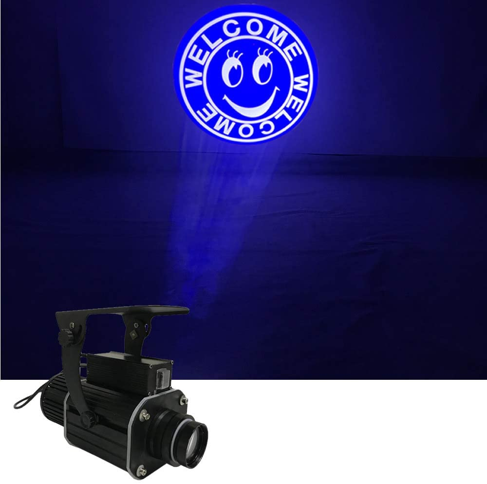 Sharelife Welcome Gobo 50W Waterproof LED Projector Light for Show Bar Store Advertising Wedding DJ Stage Effect Lighting (Support Custom Logo)