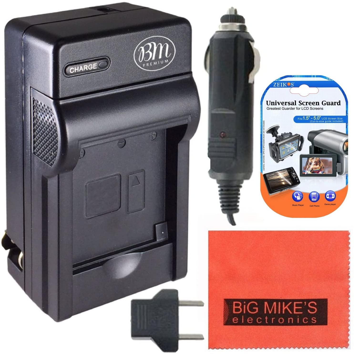 BM Premium NB8L Battery Charger for Canon PowerShot A2200 IS, A3000 IS, A3100 IS, A3200 IS, A3300 IS Digital Camera