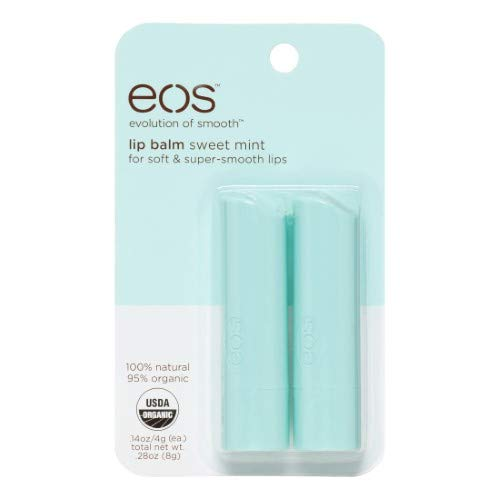 Eos Lip Balm Stick, Sweet Mint (Pack of 4)