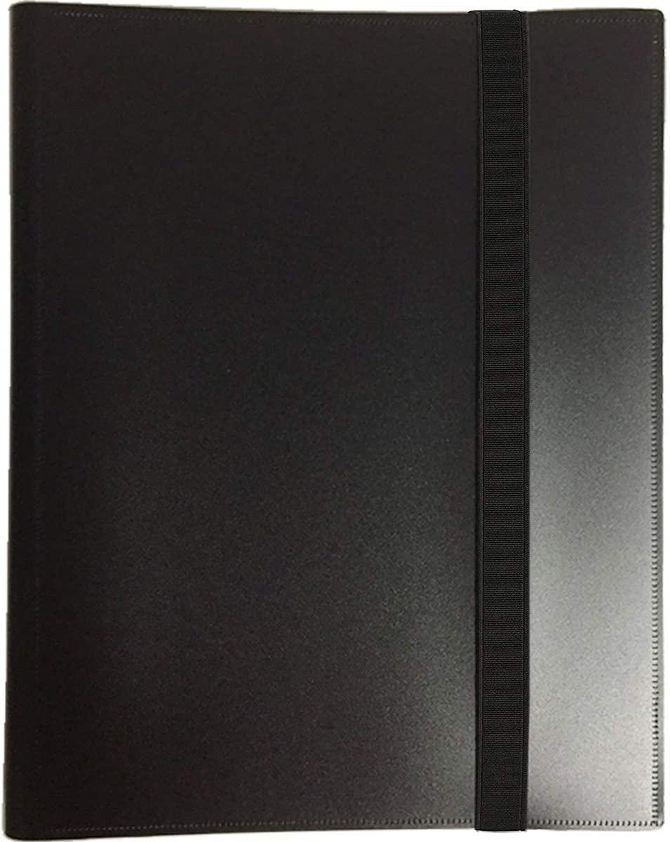 360 Pockets Trading Card Binder Sleeves-Side Loading Pocket Binder for Game Collecting Card Album Pages Folder