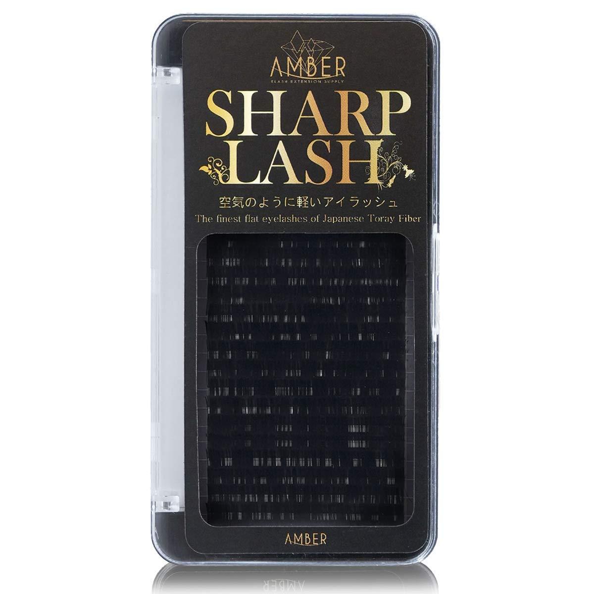 Sharp Lash - Matt Flat lash Eyelash Extension 0.25mm Thickness (10mm, C Curl)
