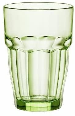 Bormioli Rocco 12.5 oz. Rock Bar Lounge Stackable Long Drink Glass, Mint, Set of 6
