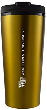 16 oz Insulated Tumbler with Lid - Wake Forest Demon Deacons
