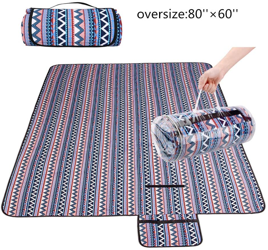 xinting Extra Large Outdoor Picnic Blanket (78