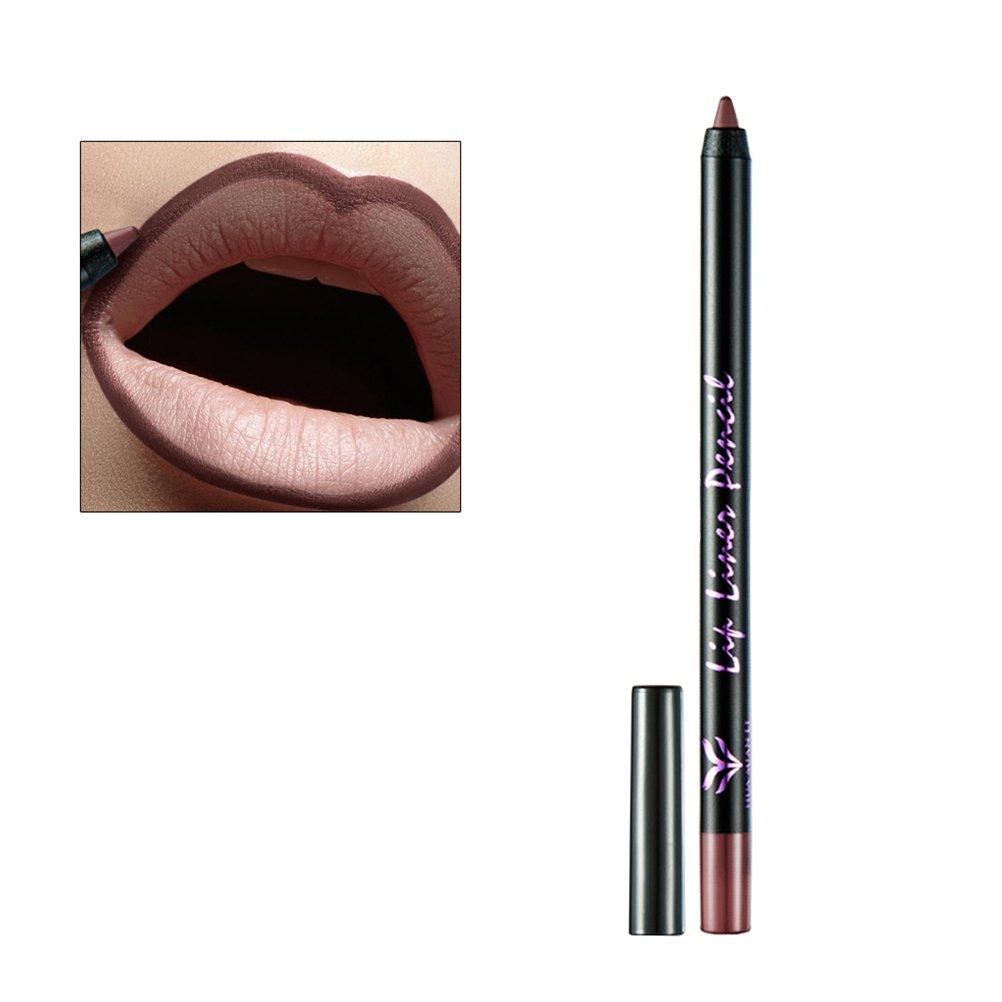 Lip Liner Waterproof Matte Pencil Fine Lip Contour Shaping Lipstick Pencil (6)