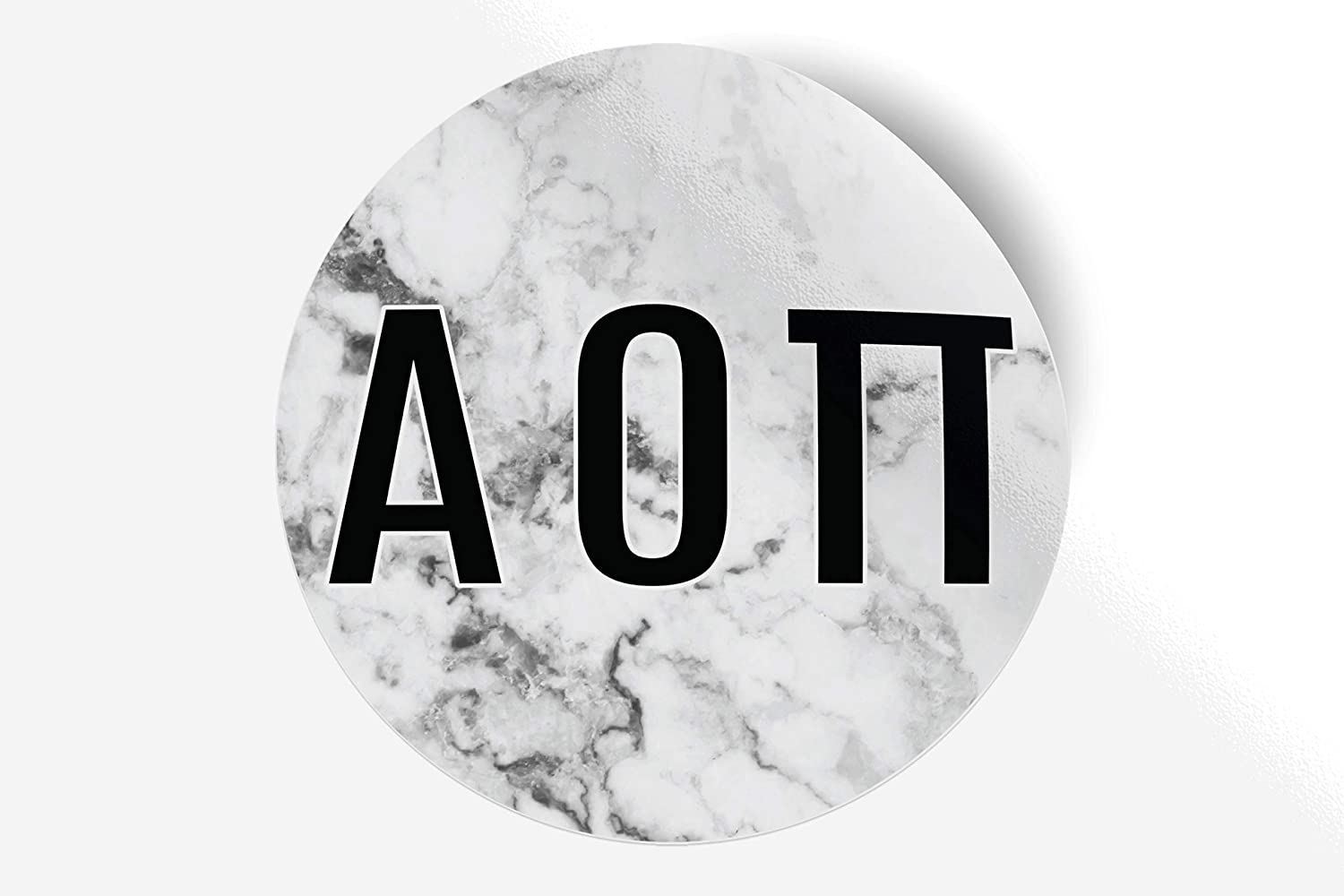 Alpha Omicron Pi Sticker Greek Sorority Decal for Car, Laptop, Windows, Officially Licensed Product, Monogram Design 5